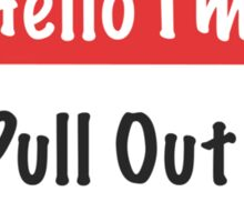 Pullout King Sticker