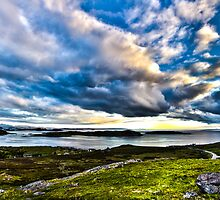 Scottish Skies, Achiltibuie in the Scottish Highlands by Cherrybom