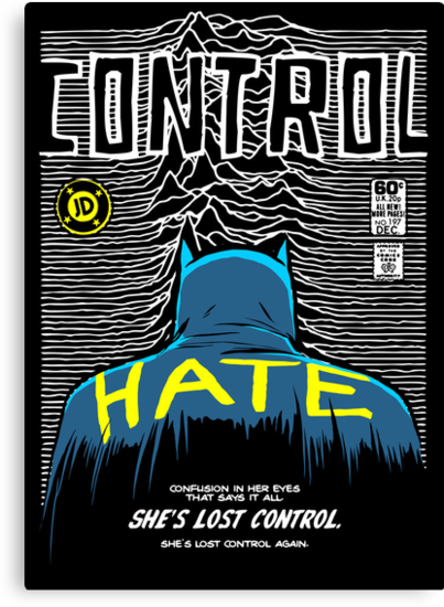Post-Punk Bat: Control by butcherbilly