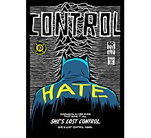Post-Punk Bat: Control Photographic Print