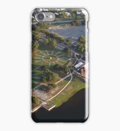 Barefoot Bay Clubhouse iPhone Case/Skin