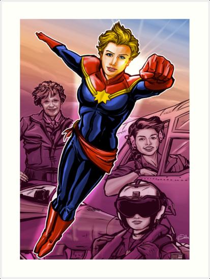 Marvelous Captain by Patrick Scullin