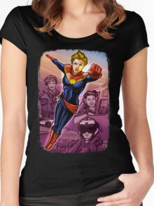 Marvelous Captain Women's Fitted Scoop T-Shirt