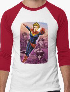Marvelous Captain Men's Baseball ¾ T-Shirt