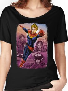 Marvelous Captain Women's Relaxed Fit T-Shirt
