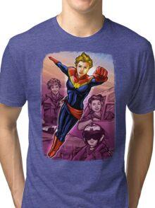 Marvelous Captain Tri-blend T-Shirt