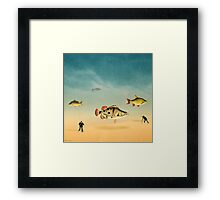 fish life  Framed Print