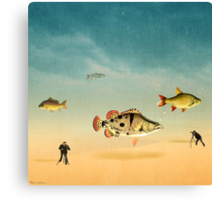 fish life  Canvas Print