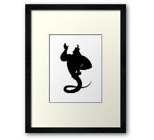 Genie Framed Print