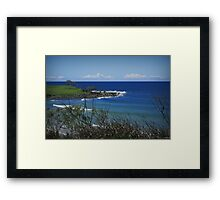 The Headlands Framed Print
