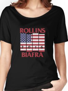 Rollins Biafra 2016 Women's Relaxed Fit T-Shirt