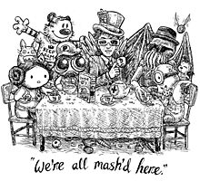We're All Mash'd Here Photographic Print