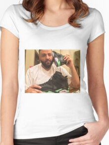 DJ Khaled Shoe Phone Women's Fitted Scoop T-Shirt