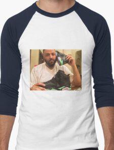 DJ Khaled Shoe Phone Men's Baseball ¾ T-Shirt