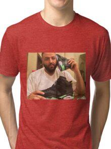 DJ Khaled Shoe Phone Tri-blend T-Shirt