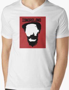 Ignoreland Mens V-Neck T-Shirt