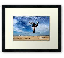 Free Running Framed Print