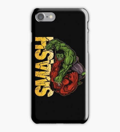 Smash iPhone Case/Skin