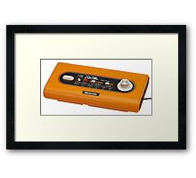 Colour TV Game Framed Print