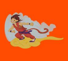 Dragonball: Goku and Nimbus by Michelle Rakar