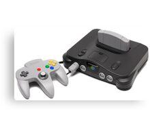 Nintendo 64 Console Canvas Print