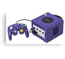 Nintendo Gamecube Console Canvas Print