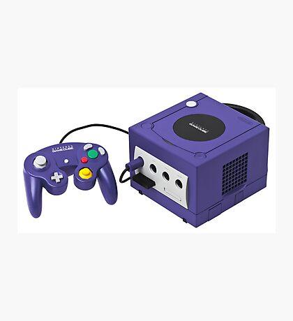 Nintendo Gamecube Console Photographic Print