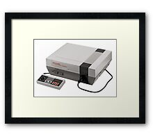 Nintendo Entertainment System Framed Print
