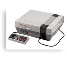 Nintendo Entertainment System Canvas Print