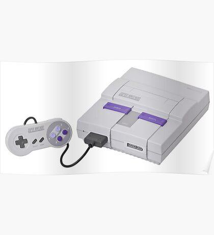 Super Nintendo Entertainment System Poster