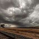 storm clouds  by warren dacey