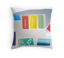 All Occasion Mini Greeting Cards Throw Pillow