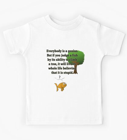 Everybody is a Genius Kids Tee