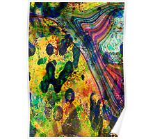 abstract original colours Poster