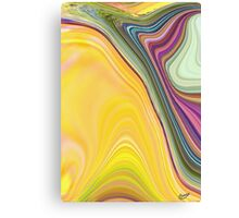 abstract soft colours Canvas Print