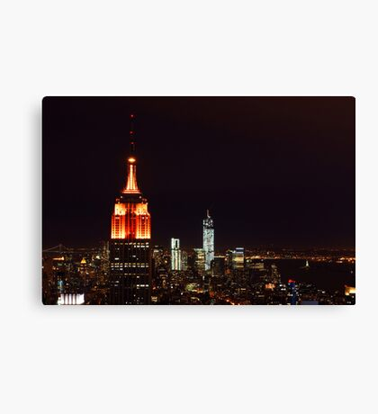 Empire of The State Canvas Print
