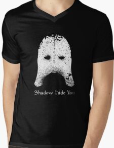 Shadow Hide You Mens V-Neck T-Shirt