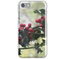 Holly On The Bush iPhone Case/Skin