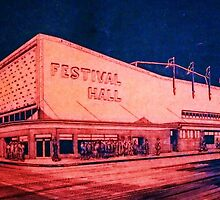 FESTIVAL HALL CIRCA 1940 by kaleidoscopecreation
