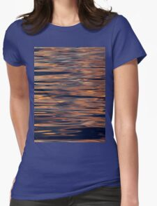 Sunset on the Sea Womens Fitted T-Shirt