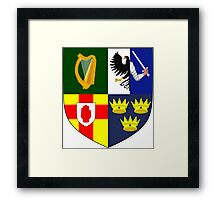 Arms of Four Provinces of Ireland  Framed Print