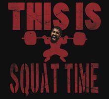 This is squat time! by Lamamelle