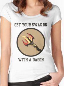 Get Your Swag on With a Dagon Women's Fitted Scoop T-Shirt