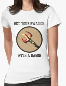 Get Your Swag on With a Dagon Womens Fitted T-Shirt