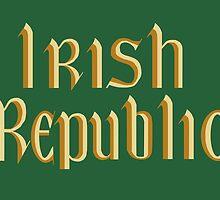 The Irish Republic Flag (1916, 1919-1922) by abbeyz71
