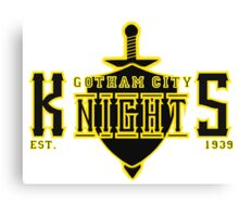 The Gotham City Knights Canvas Print