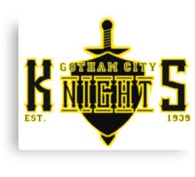 The Gotham City Knights Canvas Print
