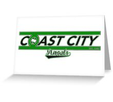 The Coast City Angels Greeting Card