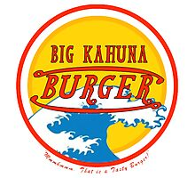Big Kahuna Burger Photographic Print