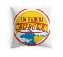 Big Kahuna Burger Throw Pillow